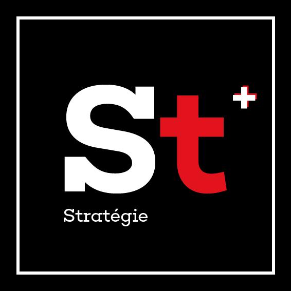 Logo stratégie de la page production digitale Innovation digitale et événementielle