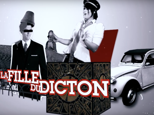 Série pilote «La fille du Dicton»