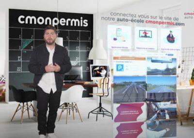 Campagne TV & DIGITALE : CMONPERMIS